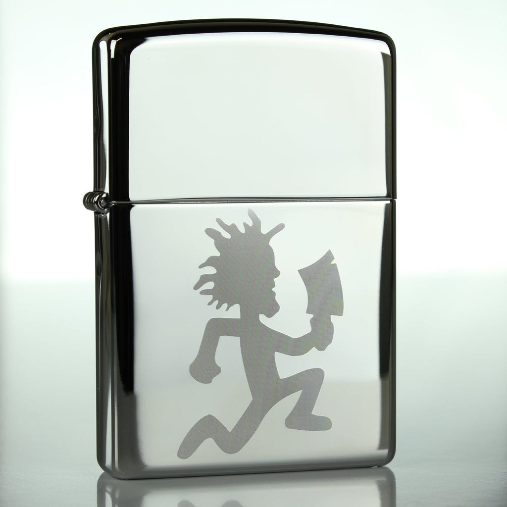 Hatchetman ICP Classic Chrome Zippo Lighter