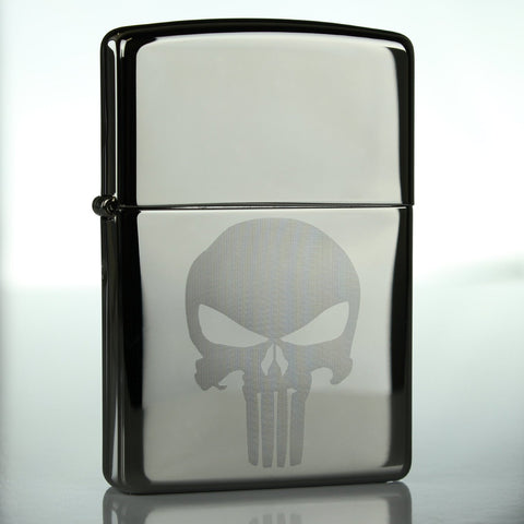 Punisher Skull Classic Chrome Zippo Lighter