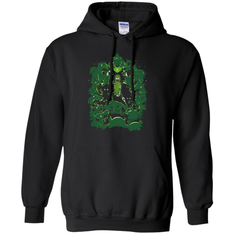 Pickle Rick Vs. The Rats - Rick and Morty season 3 Pullover Hoodie 8 oz.