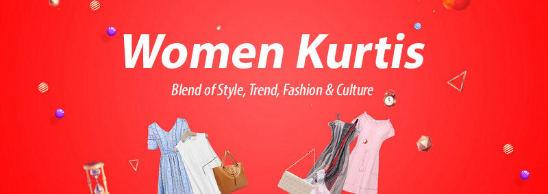 Women Kurtis - Blend of Style, Trend, Fashion & Culture