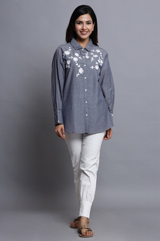 grey-cotton-shirt-with-embroidery