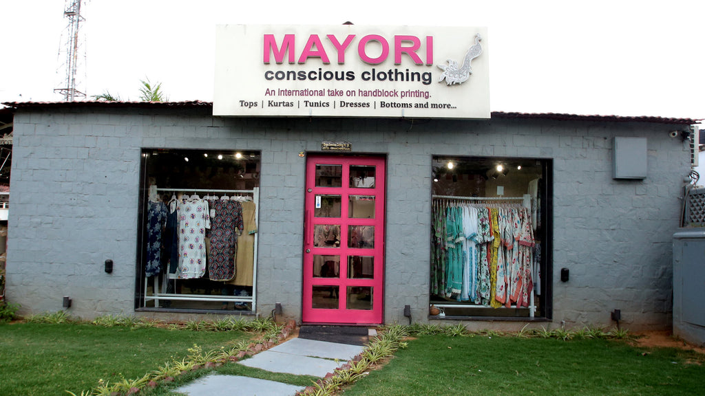 Mayori Conscious Cotton Clothing store at Jaipur