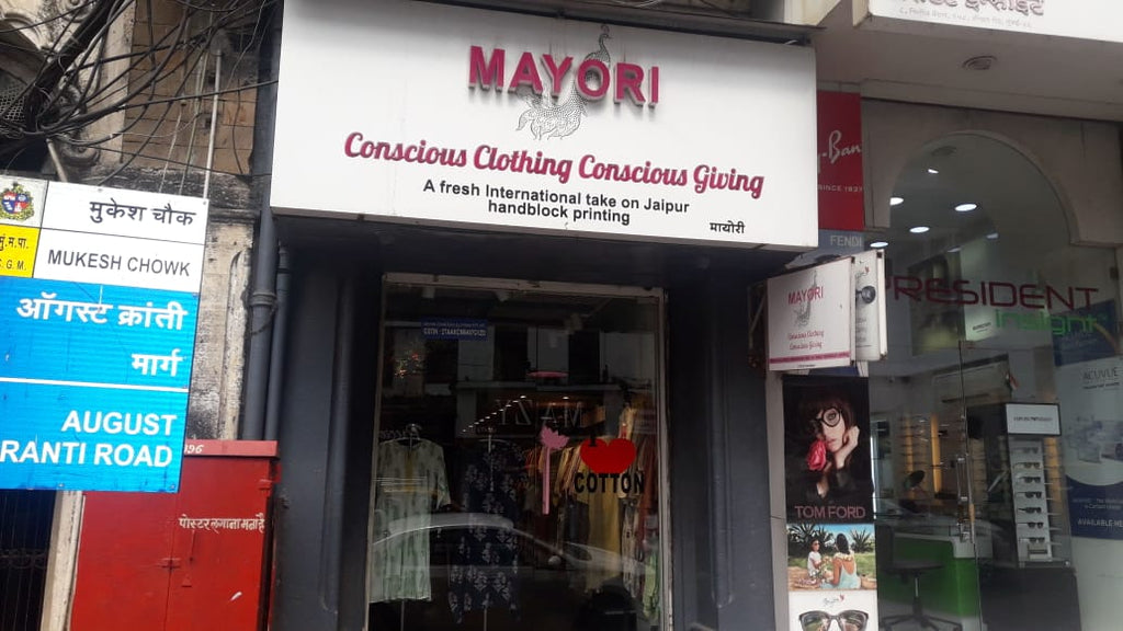 Mayori Conscious Cotton Clothing store at Mumbai