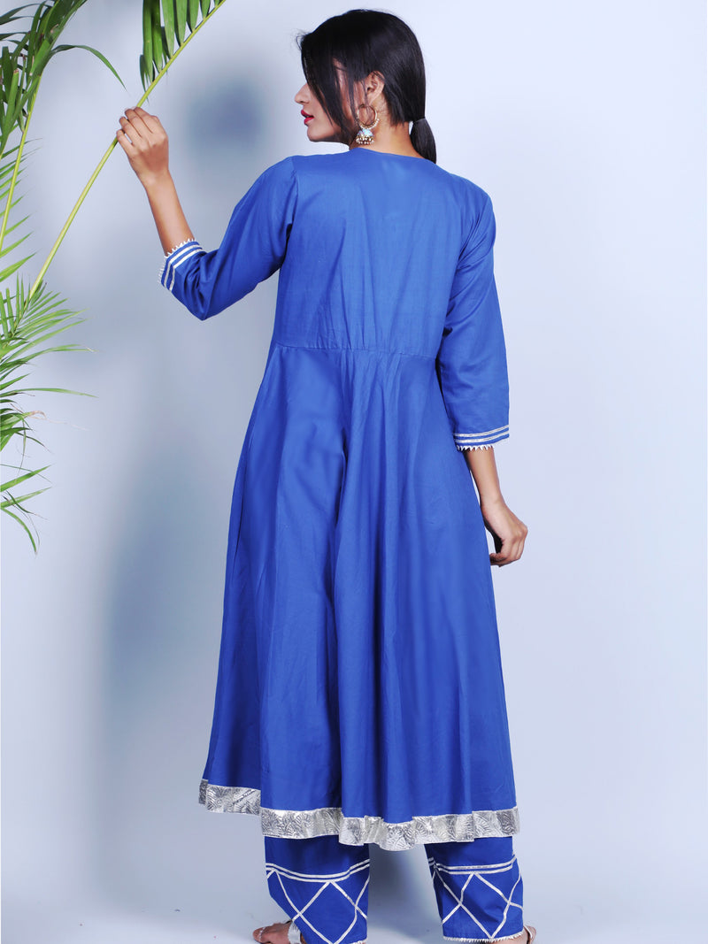 BLUE GOTTA ANARKALI