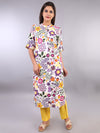 COLORFUL FLOWER KURTA