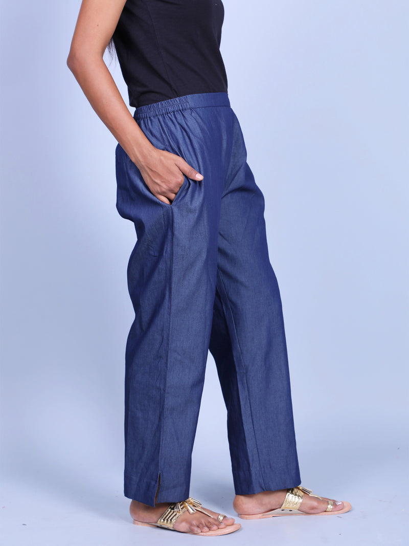 STRAIGHT DENIM PANT