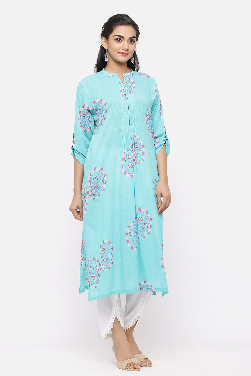 WOMEN PRINTED COTTON KURTA