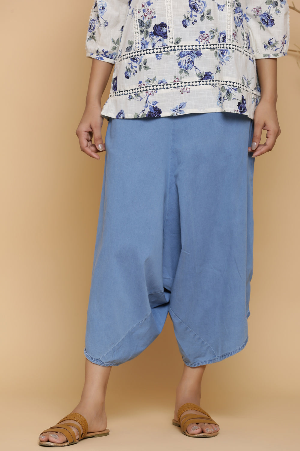 BLUE DENIM JAPANESE PANT