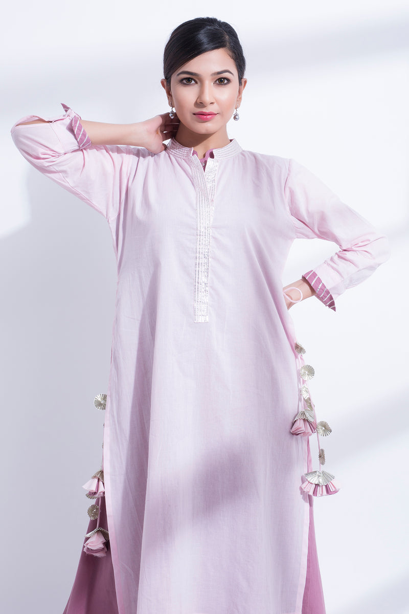 DOUBLE LAYERED KURTA