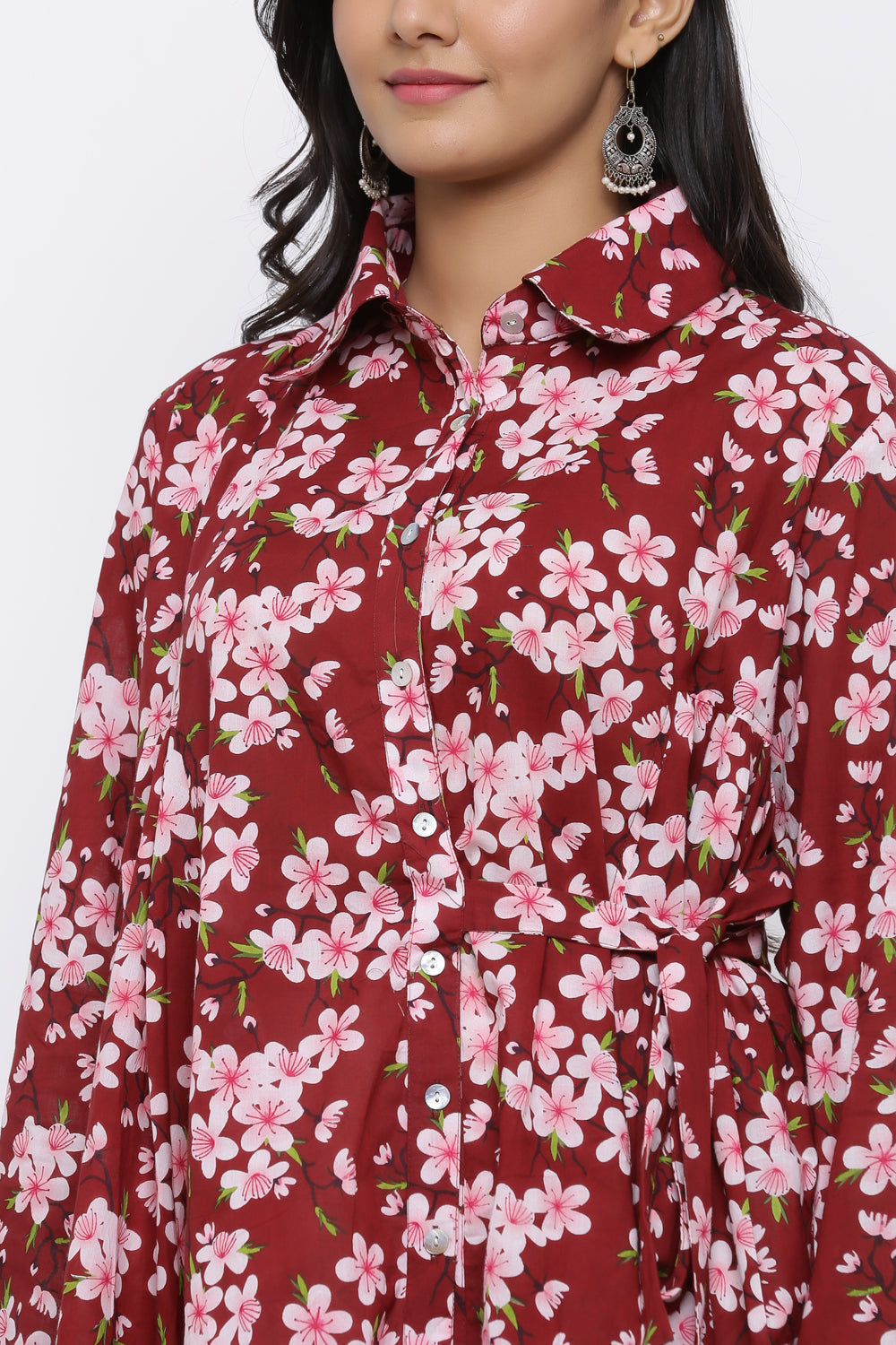 SAKURA HIGH LOW SHIRT