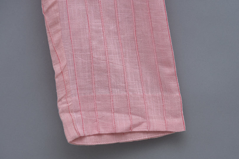Cotton pintucks pant