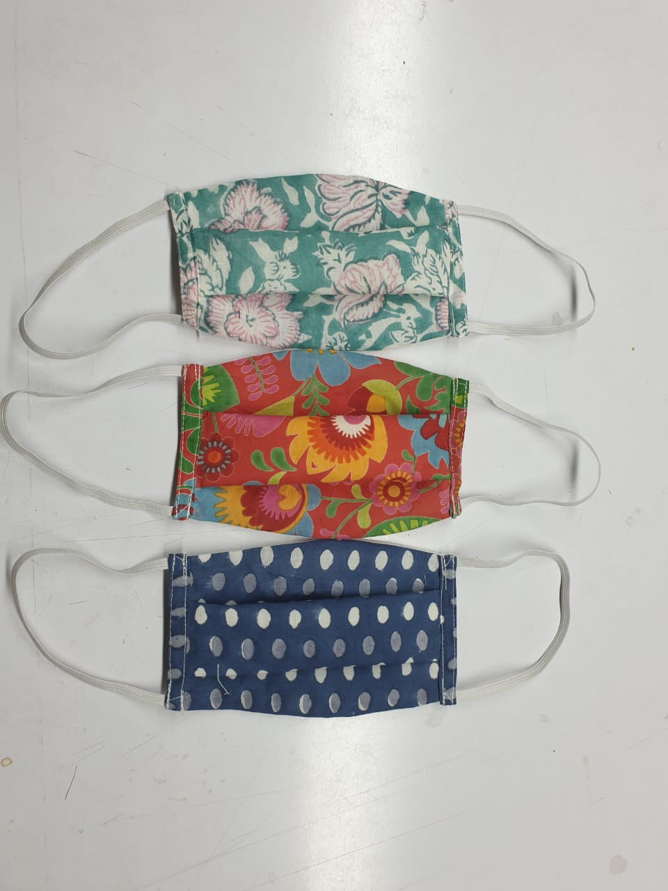 Printed Cotton Face Masks (Normal Size)