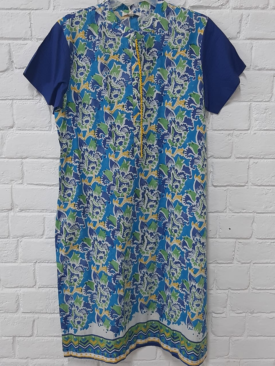 PRINTED SHORT KURTA