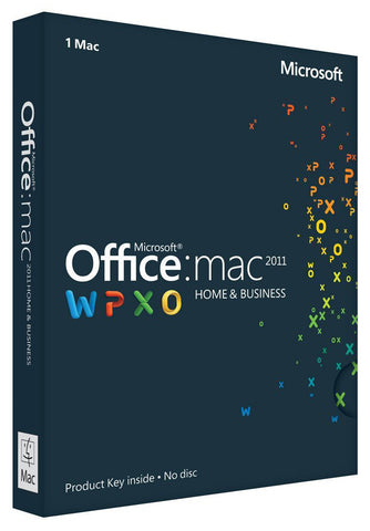 Office for Mac 2011 Home and Business - MyMSOffice.com  - 2