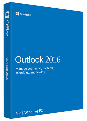 Microsoft Outlook 2016 for Windows PC