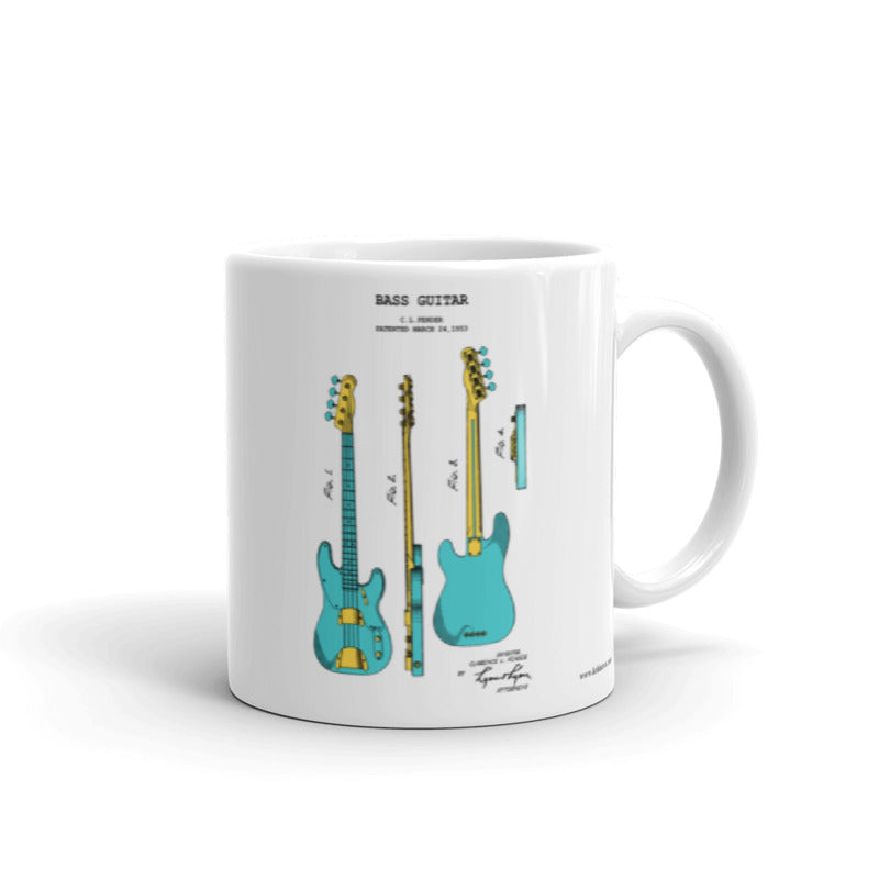 Bass Guitar | 11oz Mug