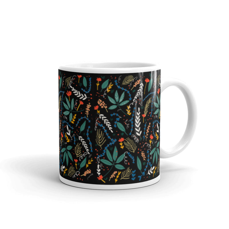 Floral Decorative Pattern | 11oz Mug