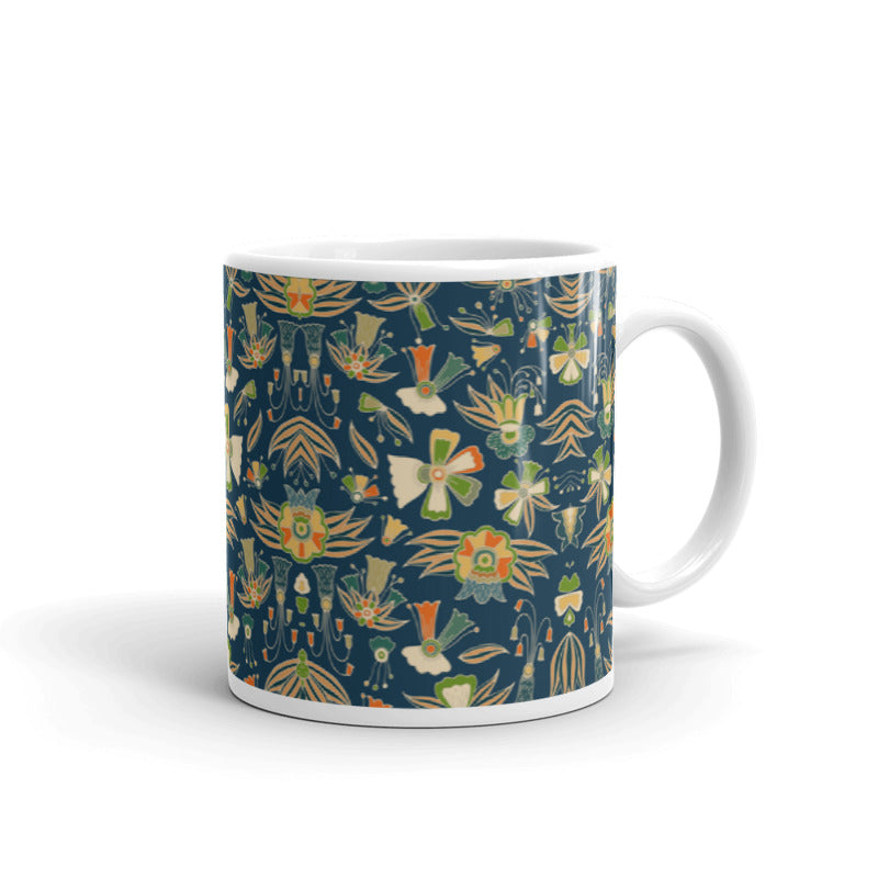 Abstract Floral Art | 11oz Mug