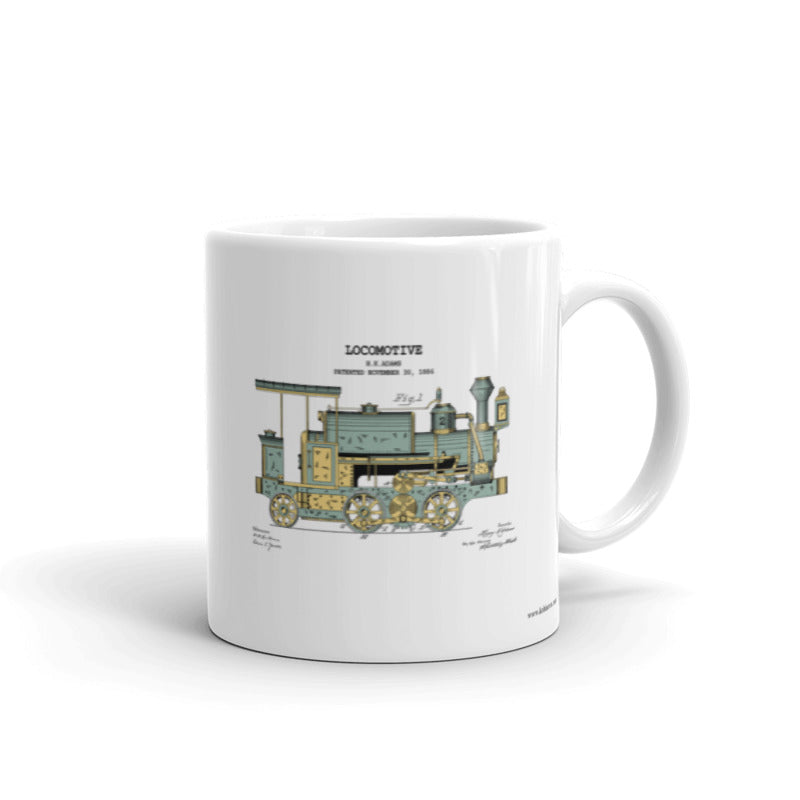 1886 Locomotive | 11oz Mug