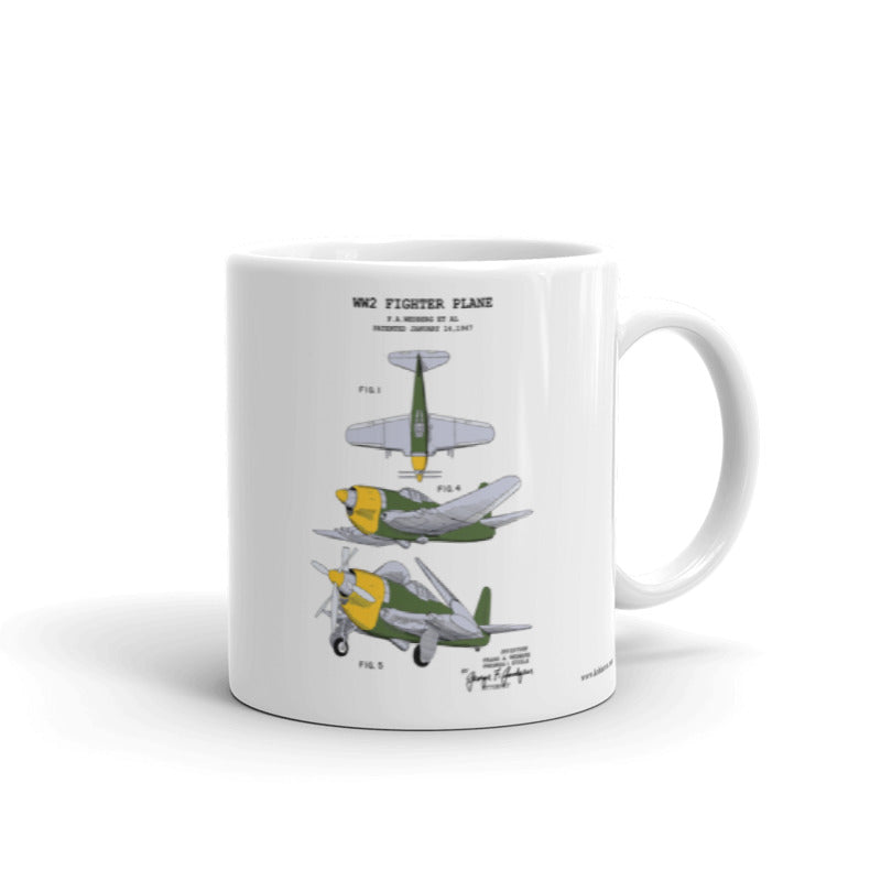 WW2 Fighter Plane | 11oz Mug