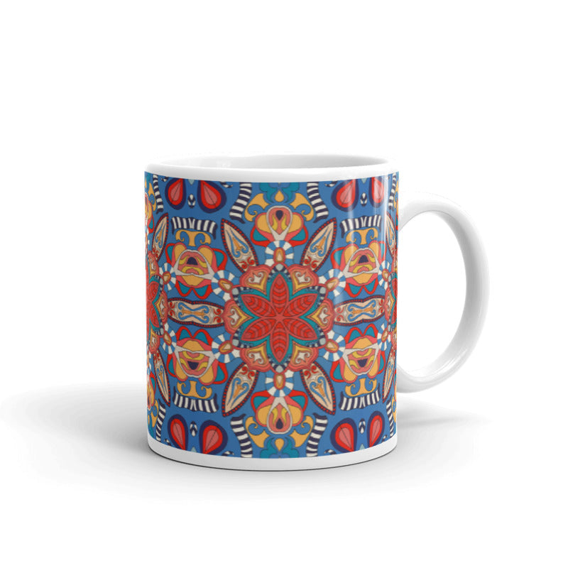 Floral Decorative Mandala | 11oz Mug