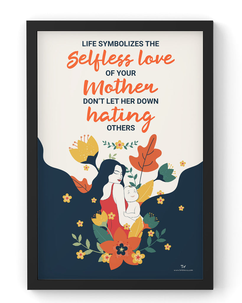 Mother - the selfless love