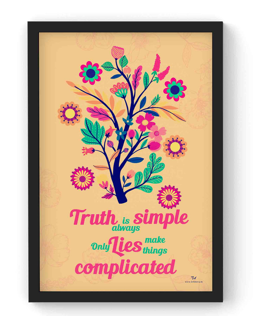 Truth is always simple