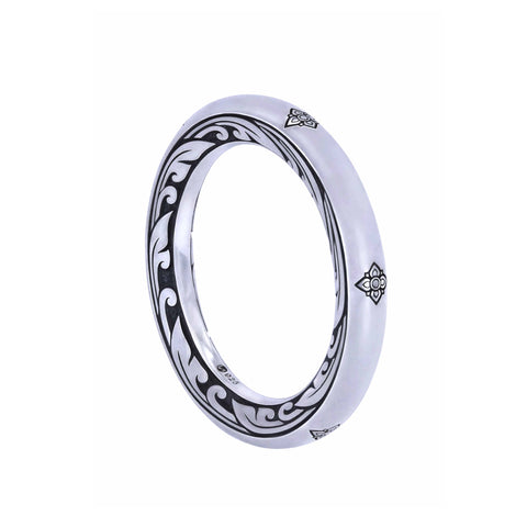 KRANOK Circle Engraved Ring