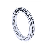 KRANOK Swirl Engraved Ring