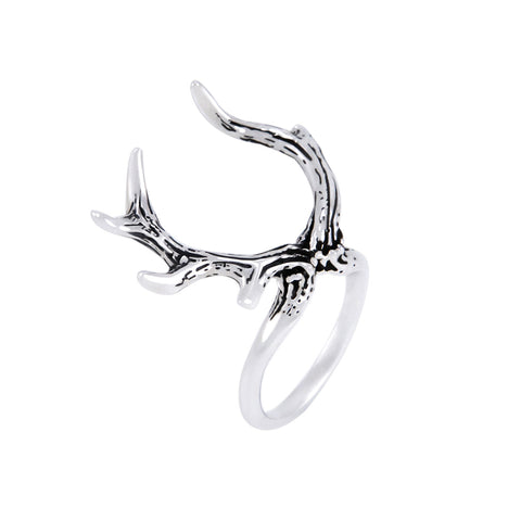 BRANCHED ANTLERS Ring