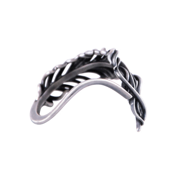3x3 FAITH - Feather Ring with Open Shank