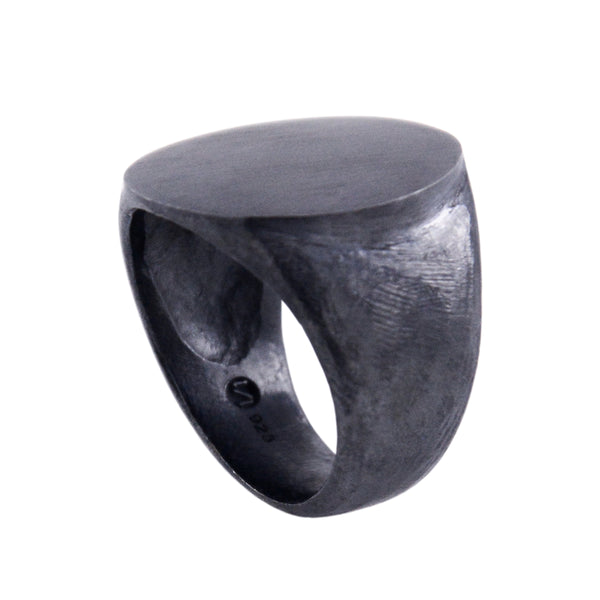 SIGNET Ring IV - Oxidized