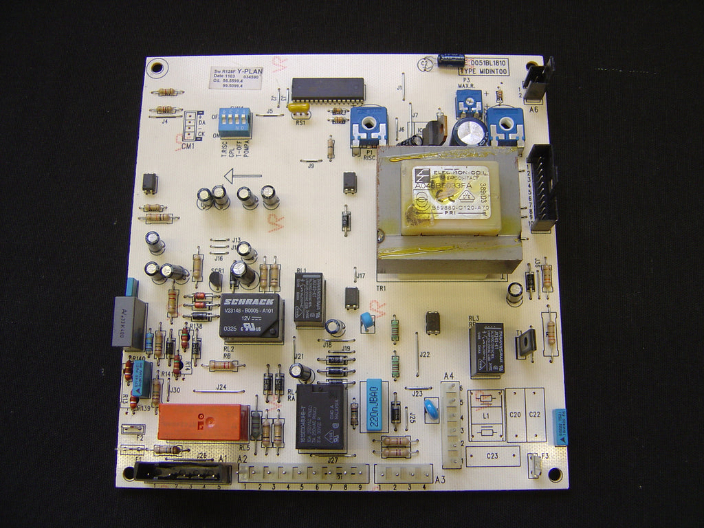 POTTERTON PERFORMA 28 BOILER PCB 248074 COME WITH 1 YEAR WARRANTY