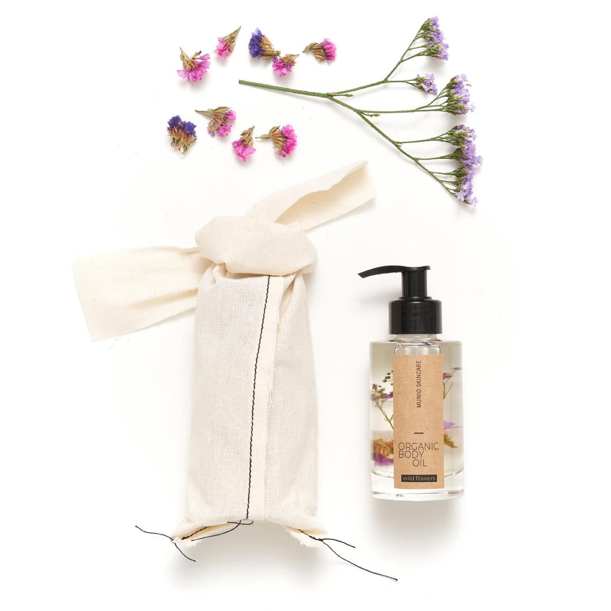 WILD FLOWERS ORGANIC BODY OIL