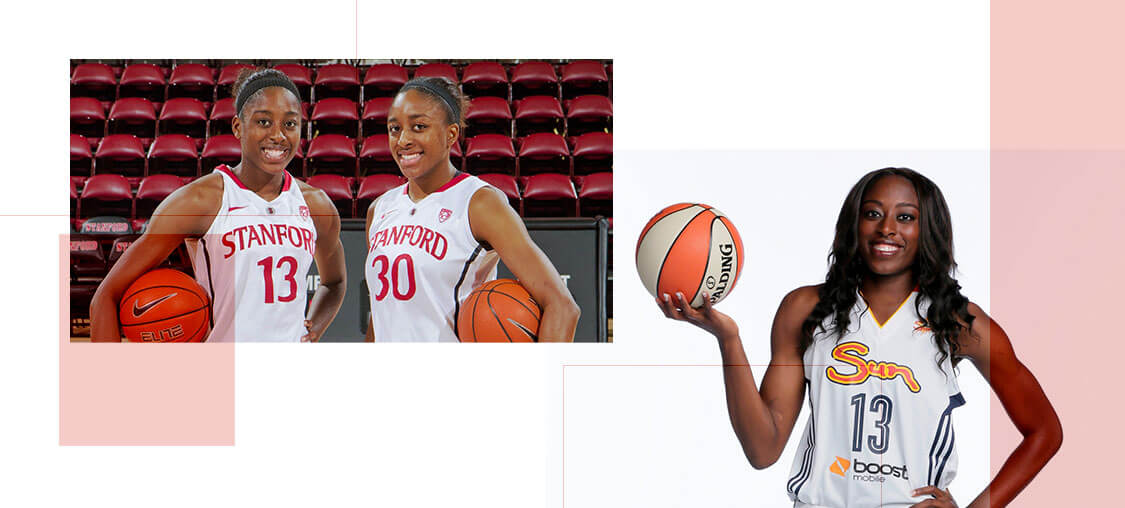 Chiney and Nneka Ogwumike