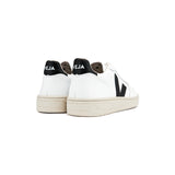 VEJA V-10 - Leather White Black