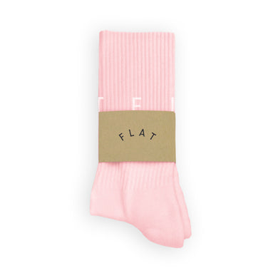FLAT SOCKS Around - Pink