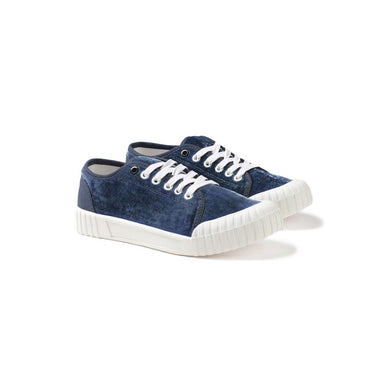 GOOD NEWS LONDON Softball Low - Navy Velvet