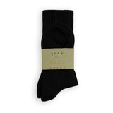 FLAT SOCKS Prisma - Black
