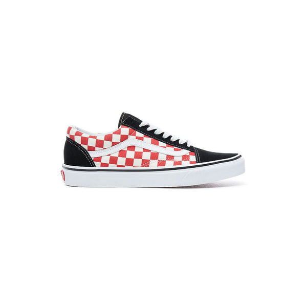 VANS Old Skool - Checkerboard Black / Red