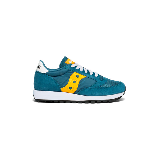 SAUCONY Jazz Original - Teal / Yellow