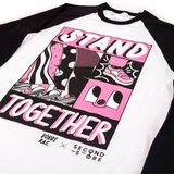 SECOND STORE x BOBBI RAE - Stand Together Unisex Baseball Tee