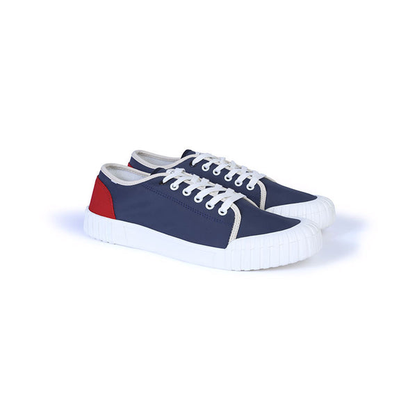 GOOD NEWS LONDON Babe Low - Red / Navy / Beige