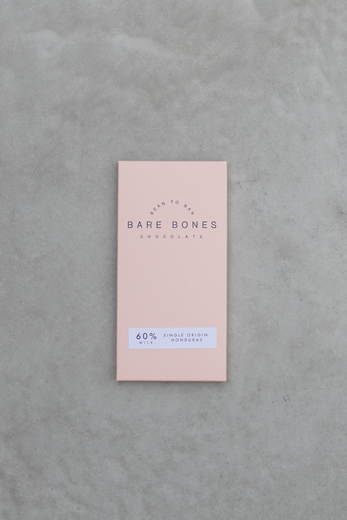 Bare Bones Chocolate - Honduras 60% Milk Chocolate