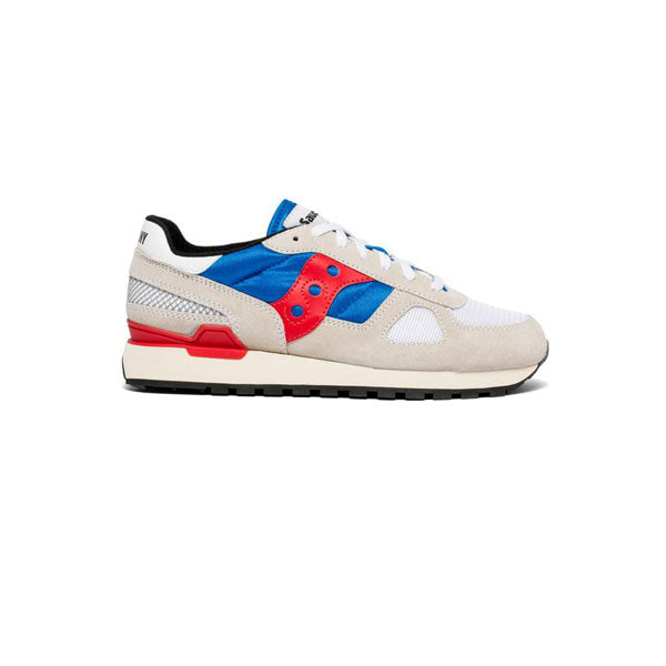 SAUCONY Shadow Original - Grey / Blue / Red