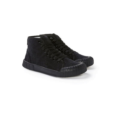 GOOD NEWS LONDON Slugger Hi - Black Corduroy
