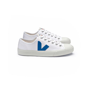 VEJA Wata - White / Swedish Blue