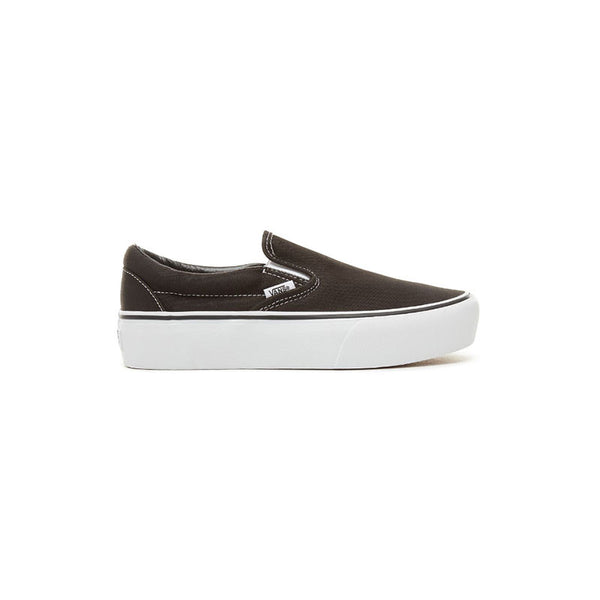 VANS Slip On Platform - Classic Black / White