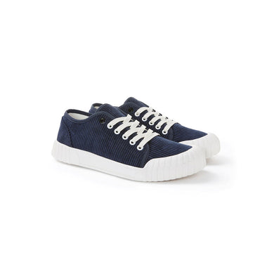 GOOD NEWS LONDON Rhubarb Low - Navy Corduroy