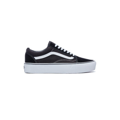 VANS Old Skool Platform - Black / White